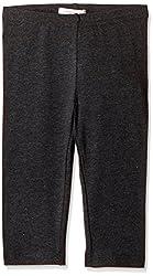 Fox Girls' Trousers  (Black Melange_10 years_710207)