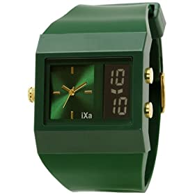 iXa (イクサ) 腕時計 ユニセックス ファッション HL57-GR ユニセックス