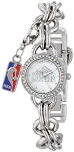 Game Time Ladies NBA-CHM-DEN Charm NBA Series Denver Nuggets 3-Hand Analog Watch by Game Time