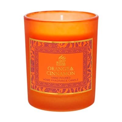 Shearer Candles SCC703 Victorian Winter Candles, Orange from Shearer Candles