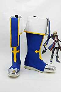 BlazBlue JIN=KISARAGI Cosplay Shoes Boots custom-made