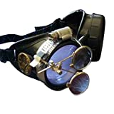 Steampunk Victorian Goggles welding Glasses diesel punk–owp-lila
