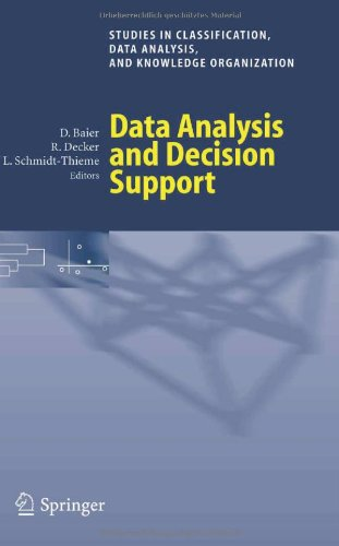 Data Analysis And Decision Support (Studies In Classification, Data Analysis, And Knowledge Organization)