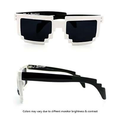 Amazon.com: MJ Boutique's 8-Bit Pixelated Sunglasses
