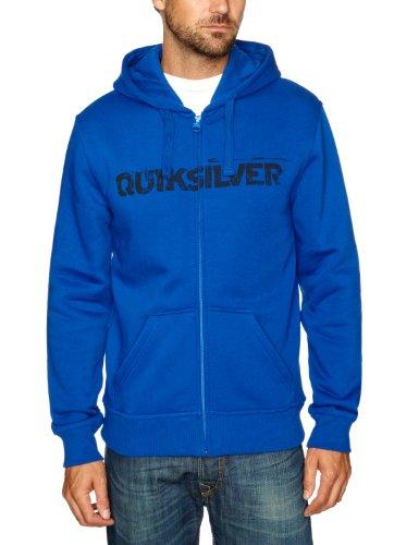 Quiksilver Hood Zip Logo-KPMSW972L Men's Sweatshirt Cobalt X-Large