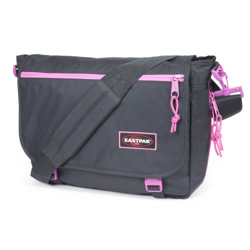 Eastpak Unisex-Adult Delegate Messenger Bag EK07637G Blackout Pink