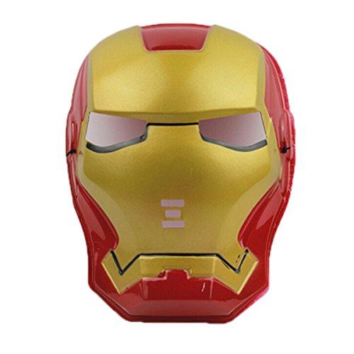 Oceantree(TM)Halloween Kostüm-Party Iron Man-Maske