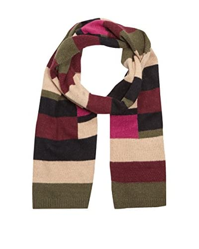 Alice Hannah Sciarpa Lana Colour Block Stripe
