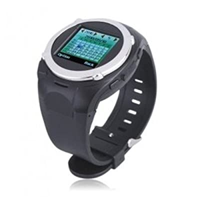 Popular Cell Phone Watch Mobile With Video recorder camera function,Sports Style - 1.5 Inch Watch Cell Phone Watch (FM, MP3 MP4 Player, Waterproof) from Flylink