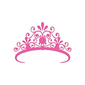 Amazon Com 2x Pink Crown Royal Princess Sticker Decal