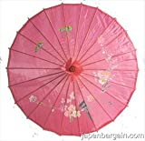 Japanese Chinese Umbrella Parasol 32in HotPink 156-11
