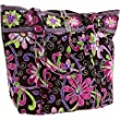 Vera Bradley Vera Tote Bag in Purple Punch