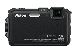 Nikon COOLPIX AW100 16 MP CMOS Waterproof Digital Camera with GPS and Full HD 1080p Video by Nikon