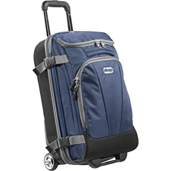 "eBags Mother Lode TLS Mini 21"" Wheeled Duffel (Blue Yonder)"