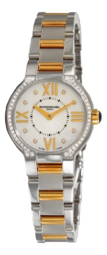 Raymond Weil Women's 5927-SPS-00995 Noemia Two tone Diamond Dial Watch