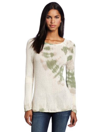 Gypsy 05 Women's Emerald Tie Dye Sweater