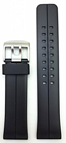 24Mm Black Watch Band