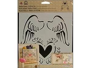 Folk Art 30598 Large Painting Stencils, Angel Wings