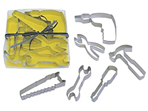 R&M International 5-Piece Tool Cookie Cutter Set