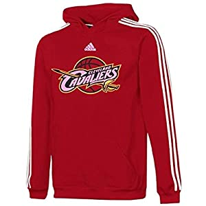 LeBron James Cleveland Cavaliers #23 NBA adidas Youth Pullover Hooded Fleece