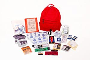 1 Person Deluxe Survival Kit Perfect for Earthquake, Evacuation, Emergency Disaster... by Survival Prep Warehouse