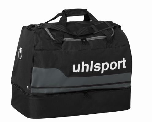 uhlsport 100424601_Schwarz/Anthra_M - Borsa sportiva unisex, M, colore: Multicolore Schwarz/Anthra