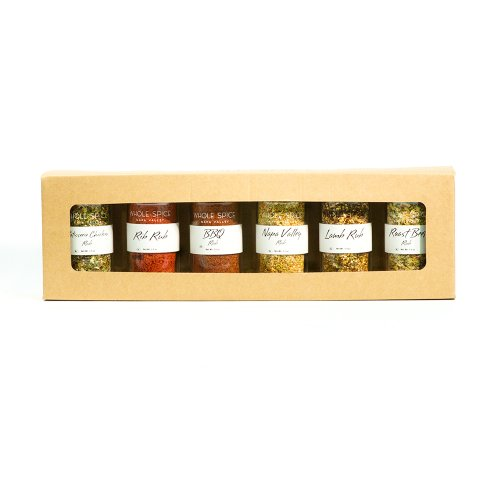 Whole Spice Gift Set, Spice Rubs, 5 Pound