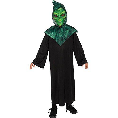Alien Costume, Green, Large