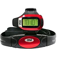 Pyle Sports PHRM24 Speed and Distance Heart Rate Watch with USB and 3D Walking/Running Sensor from Pyle Sports