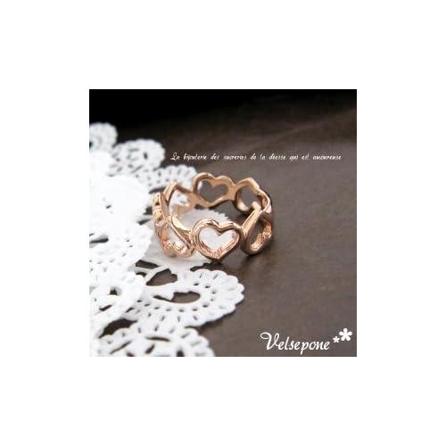 Velsepone (ベルセポーネ) Bonheur (ボヌール) リング(指輪)  5号