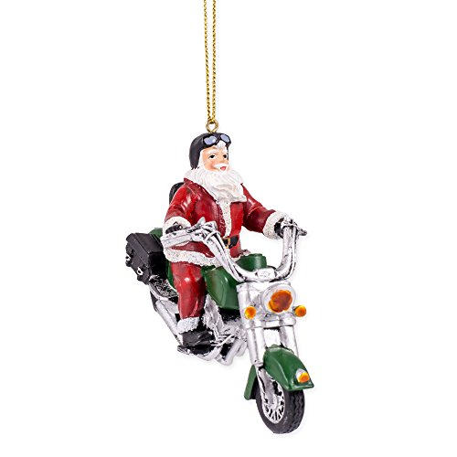 Santa Claus Riding Motorcycle 4