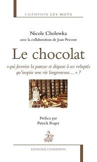 Le chocolat par Nicole Cholewka