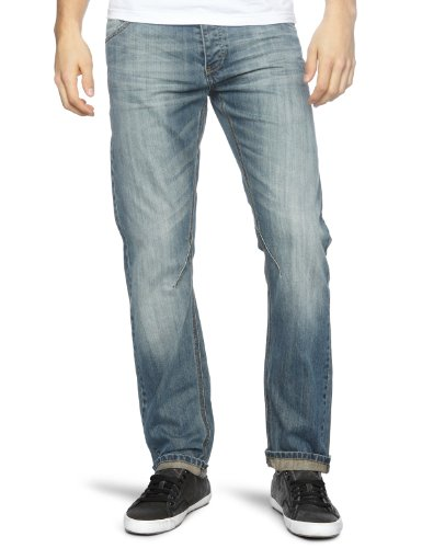 Bench Casablancas V4 Loose Men's Jeans Dark Rinse W32 INxL34 IN