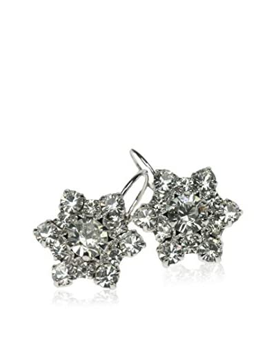 Kristall Boutique Made with Swarovski Elements Pendientes Snowflake