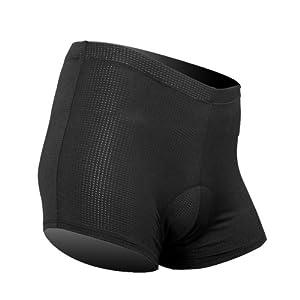 Santic Herren Rad-Trikots Unterwäsche Unterhose mit 3D Coolmax Größe L