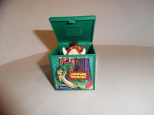 """Burger King - Disney's - Lion King """"Pumbaa"""" Finger Puppet - 1994 - 1"""