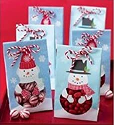 Martha Stewart Crafts Holiday Winter Wonderland Treat Bags