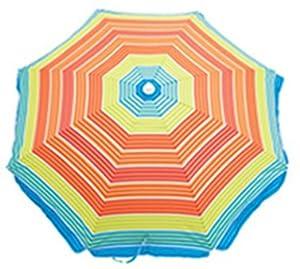 Rio Beach Deluxe Sunshade Umbrella with Valance by Rio Outdoor Brands