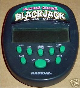 Buy Radica Players BlackJack Handheld
