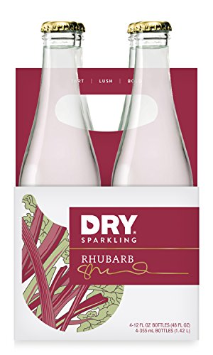 DRY Sparkling Rhubarb, 12 oz Bottles (Pack of 4) (Dry Blood Orange Soda compare prices)