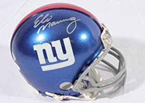 Eli Manning New York Giants Signed Autographed Mini Helmet Authentic Certified Coa by Riddell