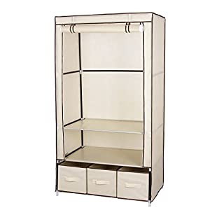 argos canvas wardrobe assembly instructions