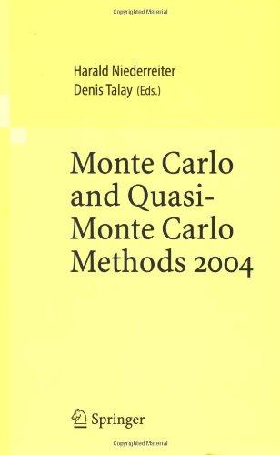 Monte Carlo And Quasi-Monte Carlo Methods 2004