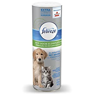 Febreze Extra Strength Pet Odor Eliminator Room & Carpet  Deodorizing Powder Endorsed by BISSELL, 32 ounces