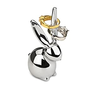 Amazon.com: Umbra Zoola Bunny Ring Holder, Chrome: Home & Kitchen