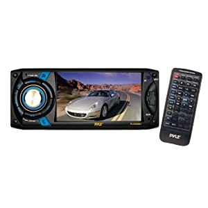 Pyle PLD40MU 4.3-Inch Touch Screen TFT/LCD Monitor with Digital Video Player/CD/MP3/USB/SD/AM/FM/RDS Player from Sound Around