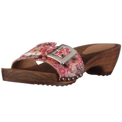 Sanita Women's Elisa Orange Slides Sandal 453959/9