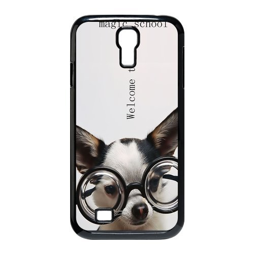 Generic Cell Phones Cover For Samsung Galaxy S4 Case I9500 Cute Dog Portrait Dogs Little Brown Dachshund Greedy Pug Shiba Inu Poodle White Labrador Chihuahua Dog Puppy - Protective Designer Custom Made Hard Snap On Phone Cases front-896822