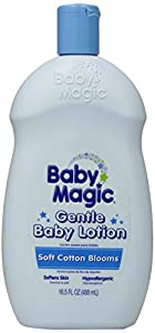 Baby Magic Gentle Baby Lotion, Soft Cotton Blooms, 16.5 Ounces