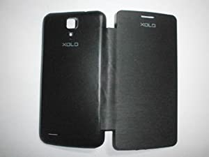 Xolo Q700 Black Flip Cover available at Amazon for Rs.99